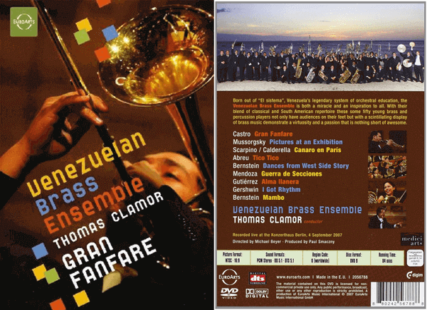 Venezuelan Brass Ensemble, Conductor Thomas Clamor-Gran Fanfare